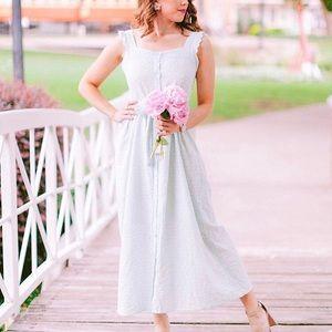 COPY - Mint Lace Midi Dress